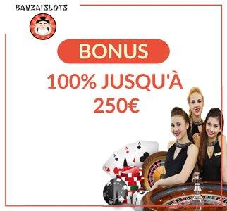 La ludothèque et les bonus disponibles sur Banzai Casino